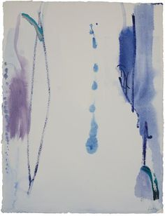 Helen Frankenthaler, Untitled, 1986, Acrylic on paper 30 3/16 x 23 1/8 inches  (76.3 x 58.7 cm)