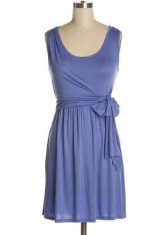 Wrap-It Up Dress in Periwinkle