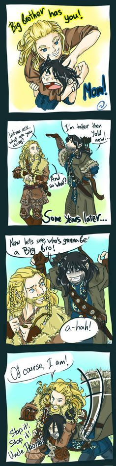 Sorry Kili, Fili will always be your big brother