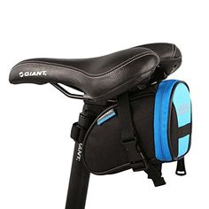 Roswheel Bike Saddl Seatpost Bag Fashion Fixed Gear Fixie Black Practical New BlackBlue -- You can get additional details at the image link. Note:It is Affiliate Link to Amazon.