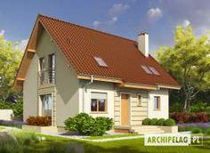 Zdjęcie projektu Adriana III (wersja B) Home Fashion, Traditional House, Construction, Cabin, Mansions, House Styles, Outdoor Decor, Modern, Home Decor