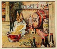 """Beatrix Potter - """"Cecily Parsely lived in a pen, and brewed good ale for gentlemen"""""""