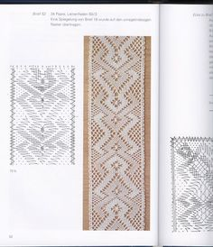 Neue kloppelindeen fur torchonspitzen - lini diaz - Веб-альбомы Picasa Hairpin Lace Crochet, Crochet Motif, Crochet Edgings, Crochet Shawl, Bobbin Lace Patterns, Bead Loom Patterns, Lace Earrings, Lace Jewelry, Bobbin Lacemaking