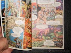 Cómics: MINI COMIC - MASTERS DEL UNIVERSO - 1985 - 4 Idiomas Italiano-Frances-Ingles-Aleman - Foto 3 - 42619607