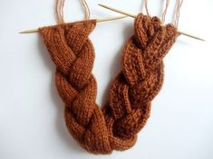 Baby Knitting Patterns Scarf Instructions: Braided headband knit for beginners Knitting Blogs, Easy Knitting, Knitting For Beginners, Baby Knitting Patterns, Knitting Stitches, Wedding Ponytail, Wedding Headband, Diy Headband, Knitted Headband