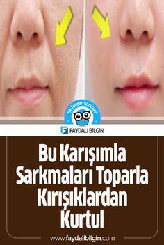 Bu Karışımla Sarkmaları Toparla Kırışıklardan Kurtul - picture for you Homemade Facial Mask, Lip Scrub Homemade, Homemade Skin Care, Cellulite, Jobs For Teens, Health Cleanse, Anti Aging, Facial Cleansers, Tips & Tricks