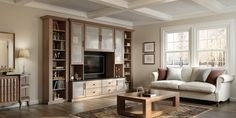 California Closets can help you create a media center that's as stylish as it is functional.