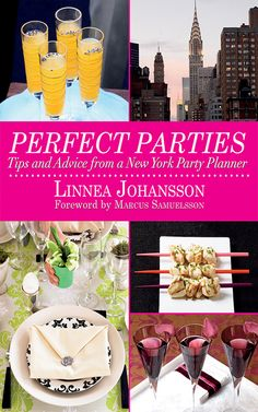Ever wish you could host a glamorous bash like the ones covered in People magazine? You canwith tips and ideas from Linnea Johansson, party planner extraordinaire. She's thrown celebrations hosting some of the biggest names in the Big Apple, including Jennifer Lopez, Donald Trump, Reese Witherspoon, Sean Combs, and Martha Stewart. And on these fully-illustrated and festive pages is her best advice for planning a fabulous event. She covers everything from invitations to decorating, from hors…