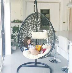 Beautiful Bedroom Designs, Beautiful Bedrooms, Swing Seat, Hanging Chair, Furniture, Home Decor, Hammock Chair, Decoration Home, Hanging Chair Stand