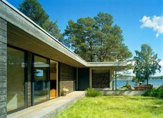 Modern Swedish 'Summer cottage'