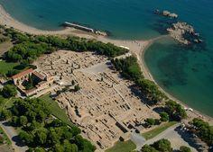 Empòrion, la ciutat grega. The greek city of Emporion.  Fotografia: S. Font
