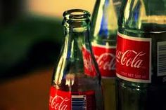 Coke in a glass bottle. Nothing beats it!