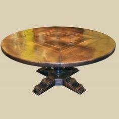French Country Round Dining Table | Antique Dining Breakfast Tables