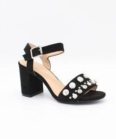 Lulus Greece Studded Leather Slide Sandal Heels - Lulus F0UBrNjSC