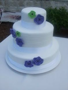 replace flowers with pinwheels and rosettes