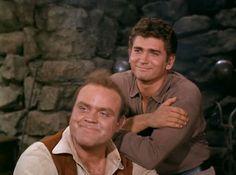 Meddlesome Hoss and Little Joe. From The Wooing of Abigail Jones (Bonanza)
