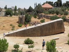 The problem with this article is that the Romans built their temples ON EXISTING STONE PLATFORMS! Baalbek is far older than the Roman culture and if the Romans or Greeks didn't do it, then it HAD to be aliens! The refusal to acknowledge non-European or non- Mediterranean high tech cultures has been a major hindrance in ancient archeology! The ancient peoples of Africa, China, India and the Americas weren't as ignorant as researchers need them to be in order to advance outrageous theories!