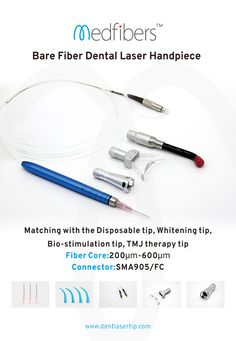 Our handpiece can match with the mainstream laser machine all over the world. Any oral laser machine of pluggable fiber, SMA905 or FC connector are all compatible.