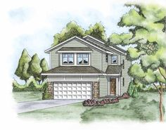 Traditional House Plan with 1562 Square Feet and 3 Bedrooms from Dream Home Source | House Plan Code DHSW75631