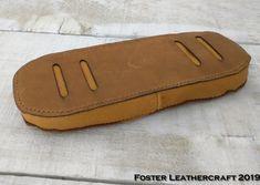 Shoulder Pads, Shoulder Strap, Deer Skin, Leather Craft, Sunglasses Case, Brown, Collection, Products