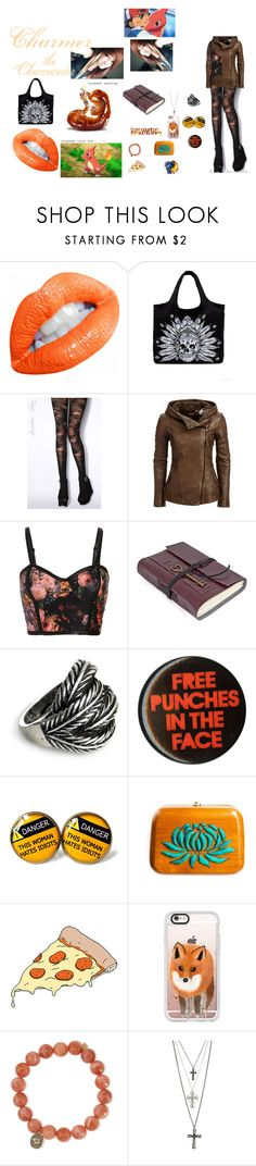 """""""Charmer"""" by surreal-starr ❤ liked on Polyvore featuring LAUREN MOSHI, Jonathan Aston, Danier, Jigsaw, Rachana Reddy, Tattly, Casetify, Sydney Evan and GUESS"""