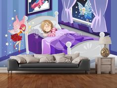 Tooth Fairy wall mural