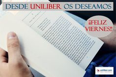 Desde Uniliber os deseamos un feliz viernes (20-11-2015)➡ http://www.uniliber.com/