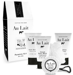 Scottish Fine Soaps - au lait.  I love the smell and feel of this product.  My favorite
