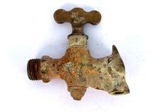 Unique Antique Nandi Shape Brass Water Tap. G7-210
