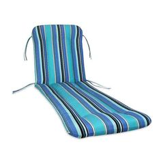 If you need another reason to lounge a while in the sun, the Comfort Classics Sunbrella Chaise Cushion is a worthy one. Crafted with durable quick-dry. Lounge Chair Cushions, Grey Cushions, Outdoor Cushions, Teal Accent Chair, Accent Chairs, Pool Lounge, Pacific Blue, Sunbrella Fabric, Seat Pads