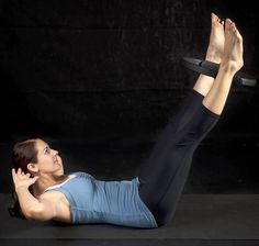 Increase your Pilates exercises by using a magic circle