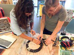 Tinkering Social Club: Human Powered Press