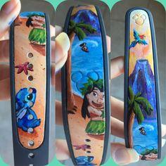 Magic Band: Custom Order Hand Painted. Magic by KortneySunshine