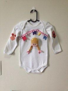 dd1ba17f22 Roupas de festa Junina para bebês e crianças - Ideias para ...