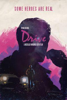Drive Movie Poster by Luis Fernando Cruz