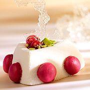 Callebaut - Weisse Schokolademousse, Limone