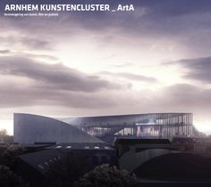 BIG, Kengo Kuma Among Four Visions Unveiled for ARTA Cultural Center in Arnhem