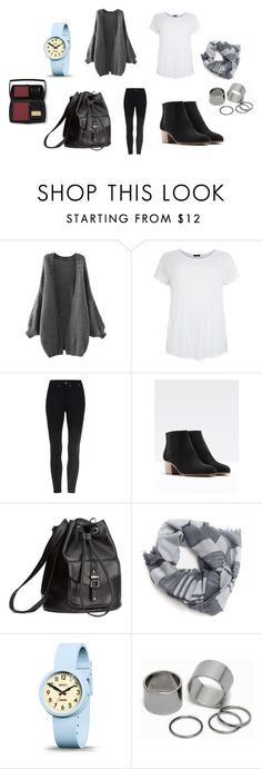 """Untitled #6619"" by allitiner16 ❤ liked on Polyvore featuring Vince, H&M, Burke Decor, Newgate, Pieces and Lancôme"