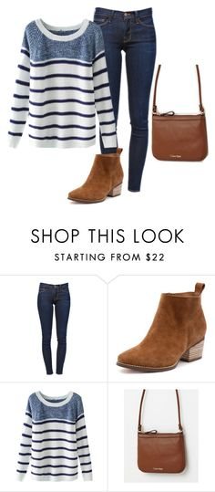"""Untitled #250"" by tracie-renae on Polyvore featuring Frame Denim and Calvin Klein"