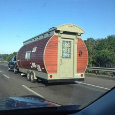 A minimalist tiny house on the road in Worcester, Massachusetts  | Is There a Minimalist Hiding Under Your Skin? #SurvivalLife www.survivallife.com