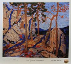 Tom Thomson Late Afternoon Shadows