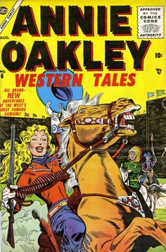 Annie Oakley 6 Cover Image