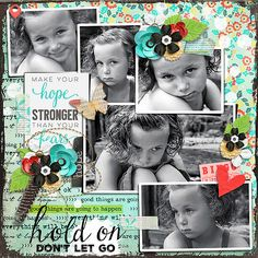 Photo Addict 08 Templates by Akizo Designs (Digital Scrapbooking layout by Conny)