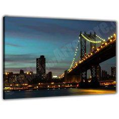 quadro stampato : ponte di brooklyn