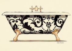 Baths for decoupage