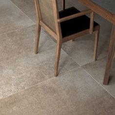Carrelage de sol / en grès cérame / mat / aspect pierre AGE MOKA NATURAL By Inalco INALCO