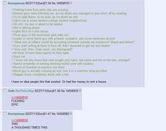 Walking home:   26 Of The Greatest Things That Have Ever Happened On 4chan