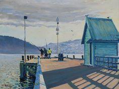 Phil Dickson - artist based in Lower Hutt Valley, Wellington, New Zealand New Zealand Art, New Zealand Travel, Art Academy, Art Club, Community Art, Gallery, Artist, Painting, Roof Rack