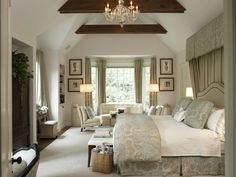 Chris Madden bedroom--gorgeous!