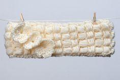 Crochet Checkers Headband